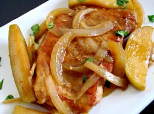 Apple Spice Pork Chops