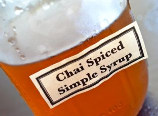 chai spiced simple syrup Image