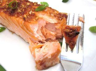ginger salmon Image