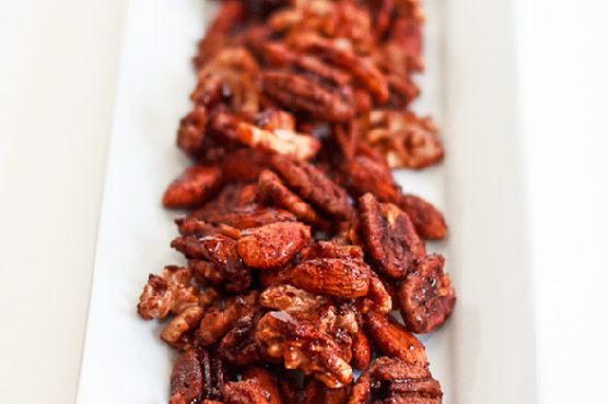 Spiced Nuts with Pimenton