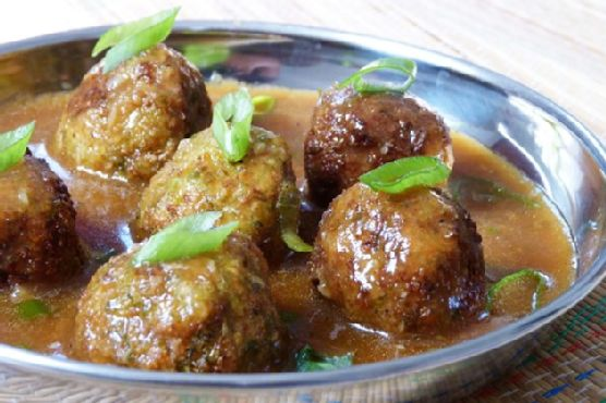 Vegetable Manchurian – Indo Chinese
