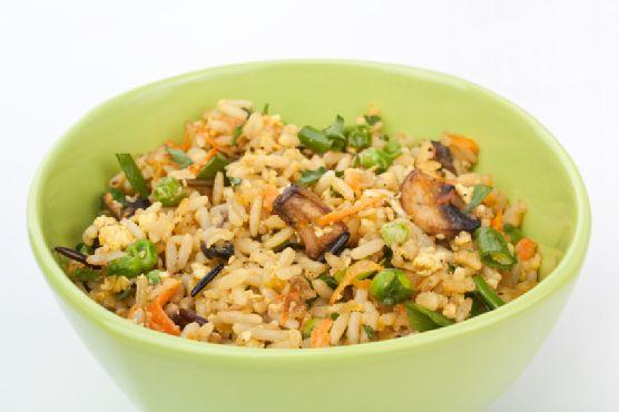 Tofu Fried Rice (Healthy, Vegan)