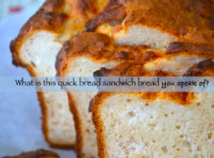 Quick {Sandwich} Bread from Glutenfree on a Shoestring