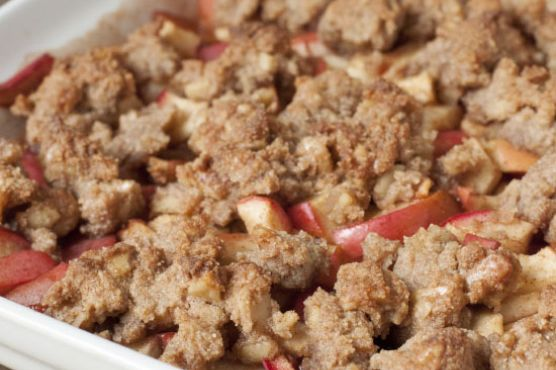 Grain-free and Vegan Apple Crisp