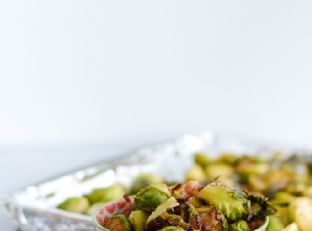 Roasted Brussels Sprouts and Bacon Image