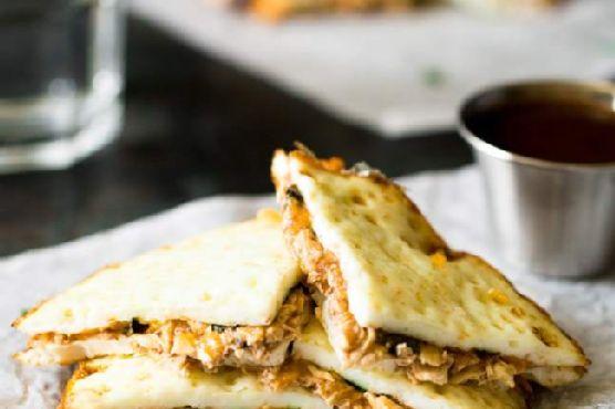 BBQ Chicken Low Carb Healthy Quesadillas