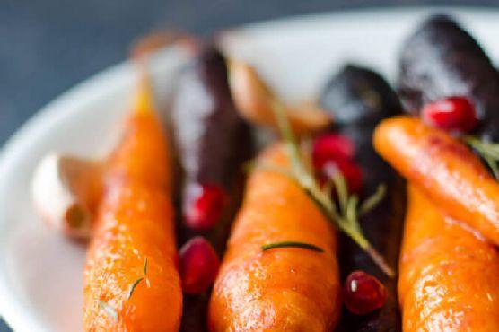 Roasted Carrot Salad