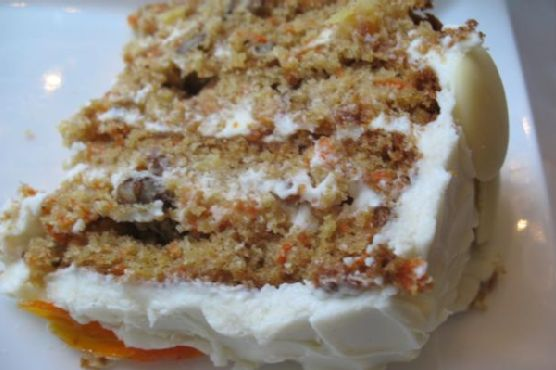 "Best Carrot Cake"" With Cream Cheese Icing"
