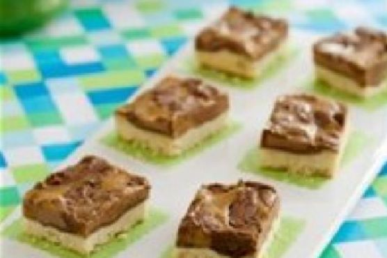 Almond Butter and Chocolate Squares