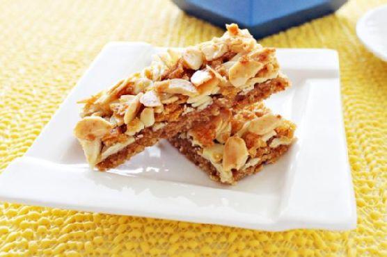 Almond Cookie Bar