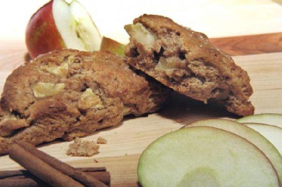 Apple Pie Honey Wheat Scones