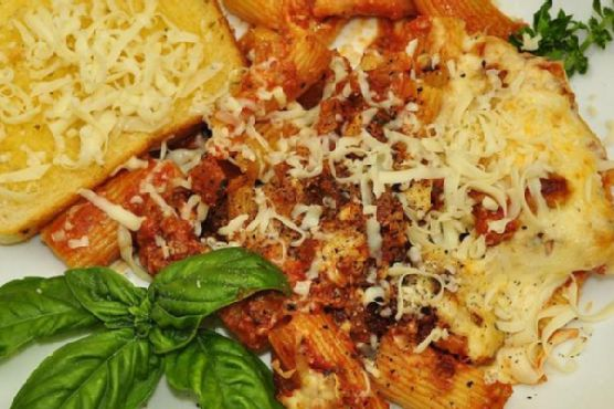Baked Rigatoni With Sausage