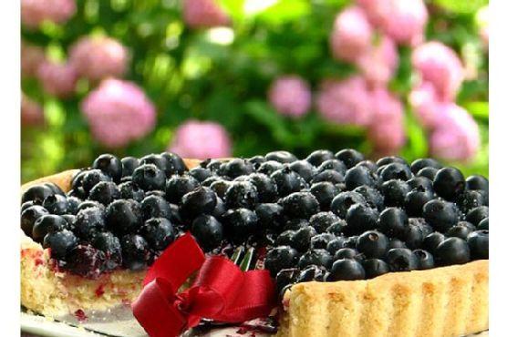 Blueberry Vanilla Pie