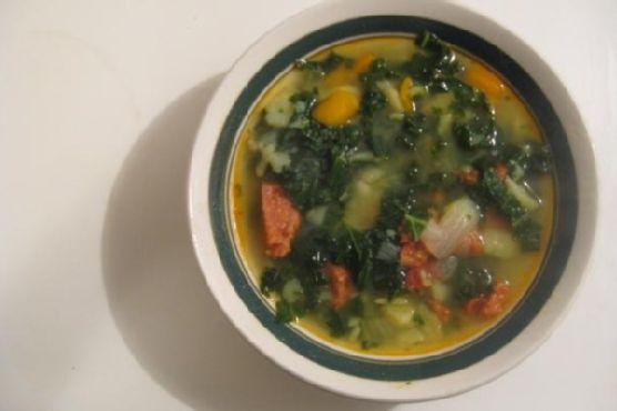 Caldo Verde - Portuguese Kale Soup