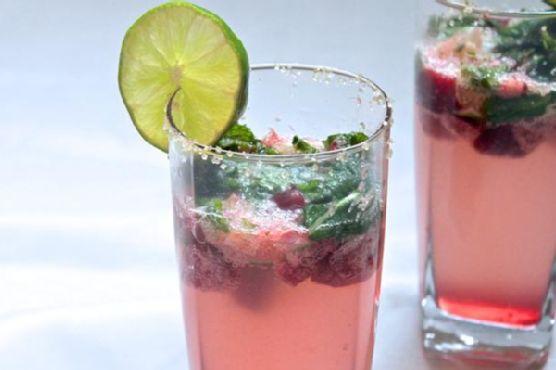 Cherry Lime Mojito
