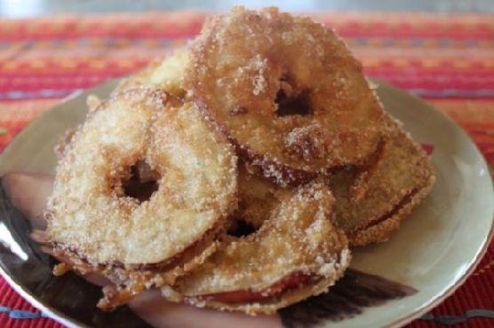 Cinnamon Sugar Fried Apples