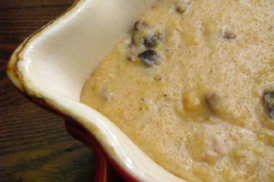 Creamy Porcini Mushroom Polenta
