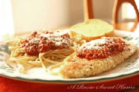Easy Baked Parmesan Chicken