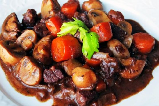 Easy Beef Bourguignon