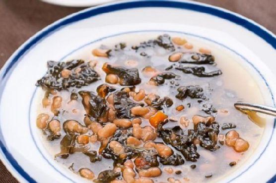 Herbivoracious' White Bean and Kale Soup