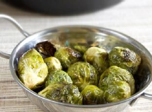 Honey Dijon Roasted Brussels Sprout Image