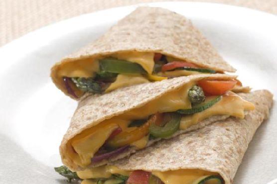 Kickin' Vegan Quesadillas