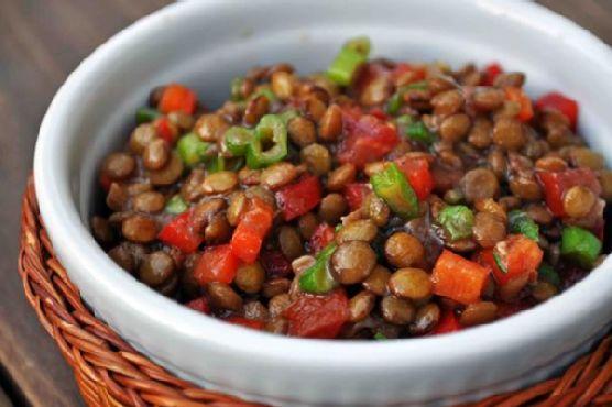 Lentil Salad With Vegetables