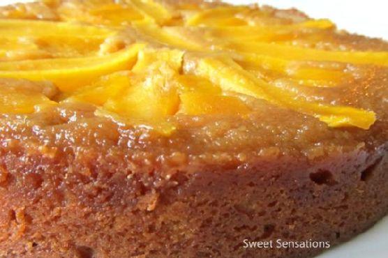 Mangolicious Upside Down Cake