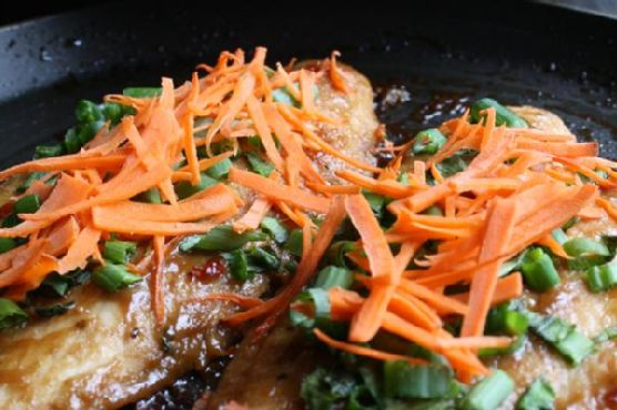 Pan-Fried Basa Fillets With Asian Marinade