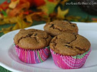 Easy Pumpkin Chocolate Chip Muffins Image