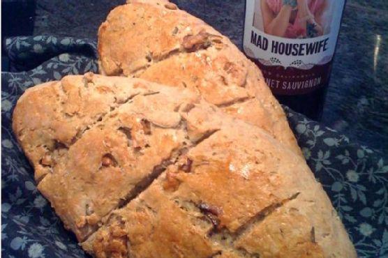 Rosemary Walnut Bread