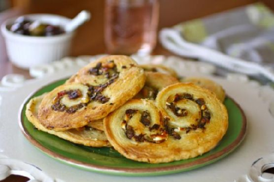 Savory Olive & Goat Cheese Palmiers