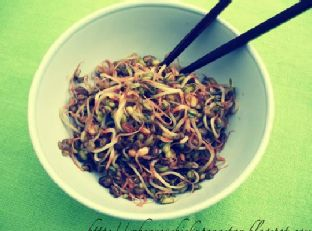 Simple Mung Bean Sprouts Image