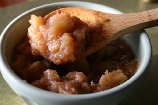 Slow Cooked Applesauce