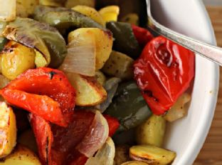 Oven Roasted O'Brien Potatoes Image