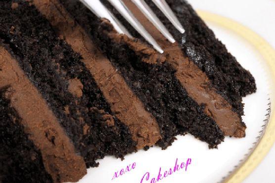 Loveletter Cakeshop's Vegan Double Chocolate Cake