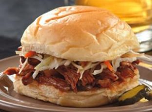 Pulled Pork with Caramelized Onions