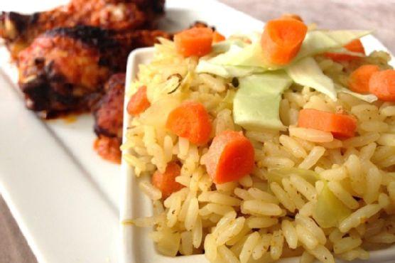 Peri Peri Chicken and Savoury Rice
