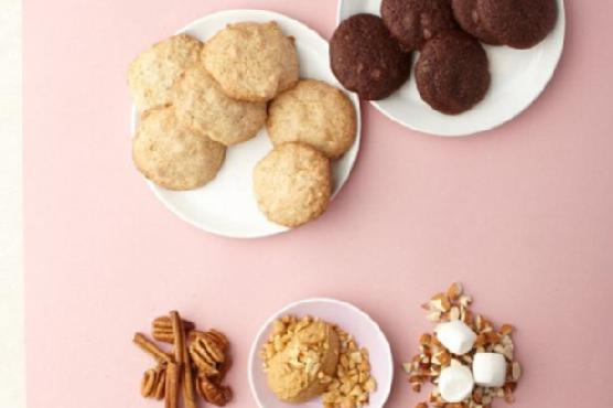 Vegan Vanilla Cookies with Walnuts