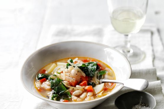 Chard, White Bean, and Potato Soup