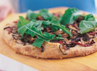 Polenta 'Pizza' with Kale Topping Image