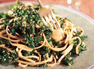 Sesame Noodles with Kale Image
