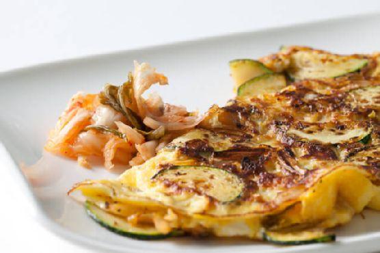 Kimchi Omelet