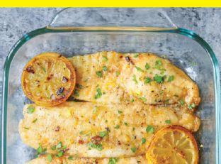 Baked Lemon Butter Tilapia