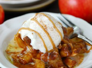 Bloomin' Baked Apples