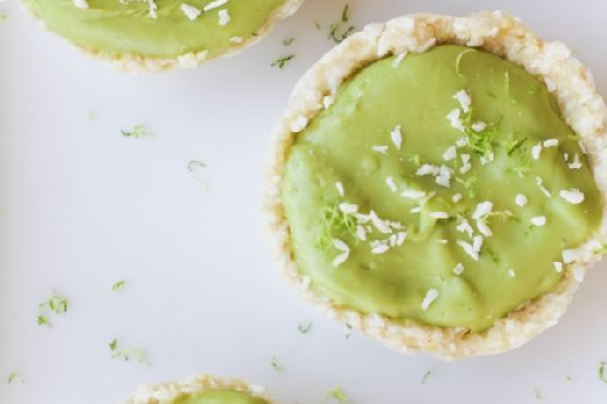 No-Bake Vegan Key Lime Tarts