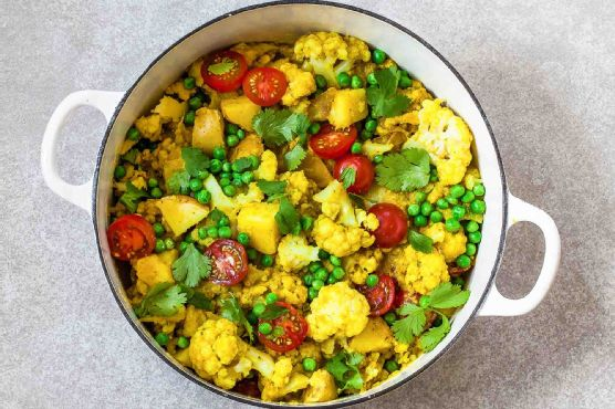 Turmeric Cauliflower Curry