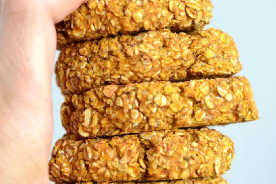 Healthy Pumpkin Oat Cookies