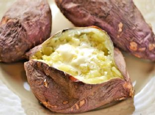 Japanese Sweet Potato with Honey Butter Image