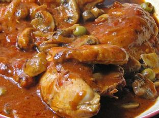 Sauteed Chicken With Tomatoes